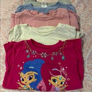 Other - Set of 5 girls long sleeve T's
